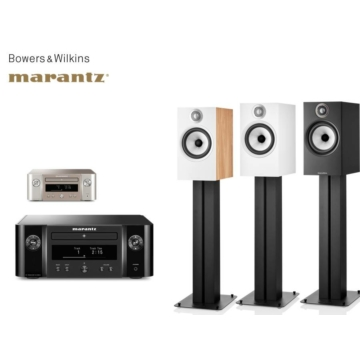 Marantz MCR612 + Bowers & Wilkins 606 S2