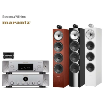 Marantz MODEL 30 + SACD 30n + Bowers & Wilkins 702 S2