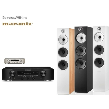Marantz NR1200 + Bowers & Wilkins 603 S2