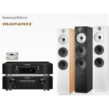 Marantz PM8006 + ND8006 + Bowers & Wilkins 603 S2