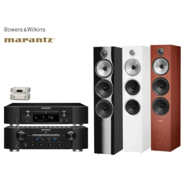 Marantz PM8006 + ND8006 + Bowers & Wilkins 703 S2