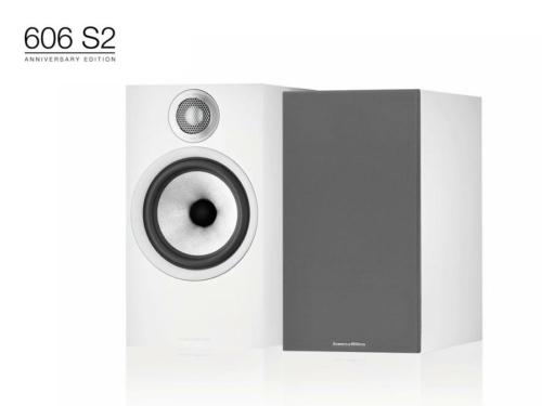 606 S2 Anniversary Edition Fehér polc hangfal