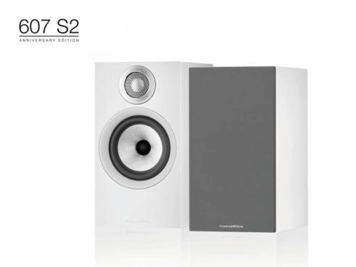 607 S2 Anniversary Edition Fehér polc hangfal