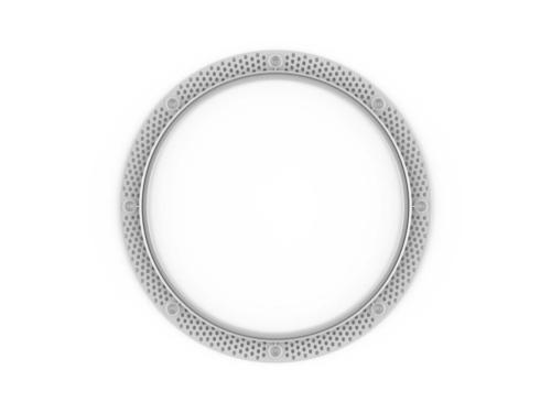 FPK 6R Kör alakú süllyesztett beépítő keret