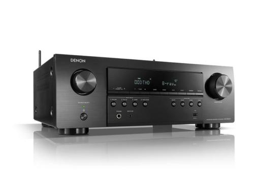 Denon AVR-S650H házimozi rádióerősítő fekete