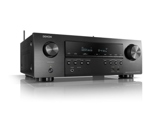 Denon AVR-S750H házimozi rádióerősítő fekete