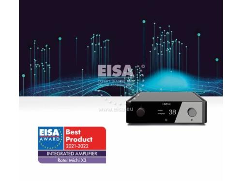 Michi X3 Sztereó integrált erősítő EISA díj