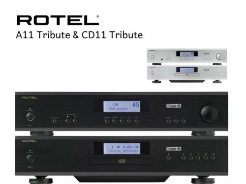 Rotel A11 Tribute + CD11 Tribute
