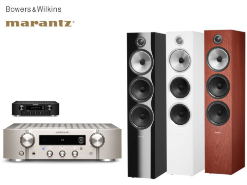 Marantz PM7000N + Bowers & Wilkins 703 S2